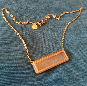 Origami Owl gold bar locket